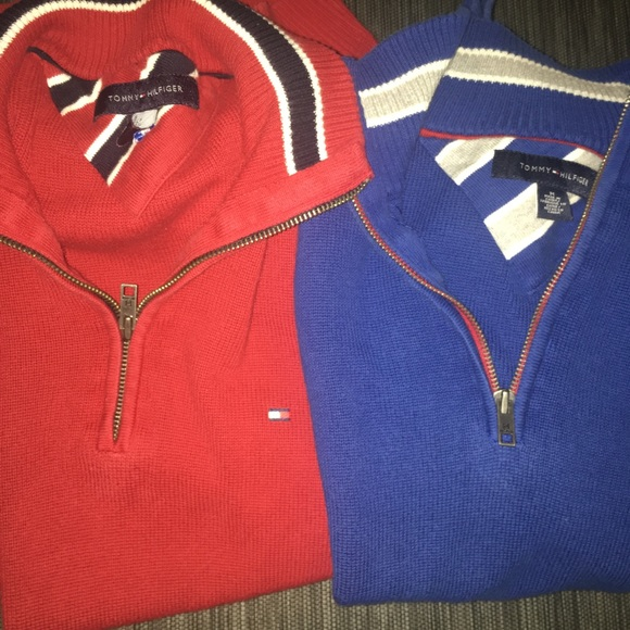 Tommy Hilfiger Other - 2 for 1!💲💲 Red & Blue Tommy Hilfiger Pullovers